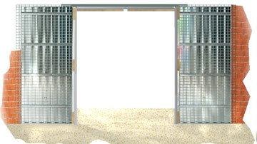 Esjal -  Puertas Correderas - esjal, Estampaciones Laviana Bouz�n, Puertas correderas, Puertas acorazadas, Puertas, Esjal